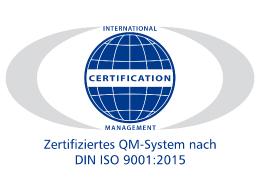 Logo ICM ISO 9001